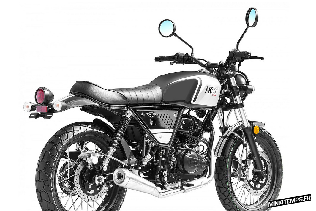 Orcal NK01 125cc scrambler 2018 - mini4temps.fr