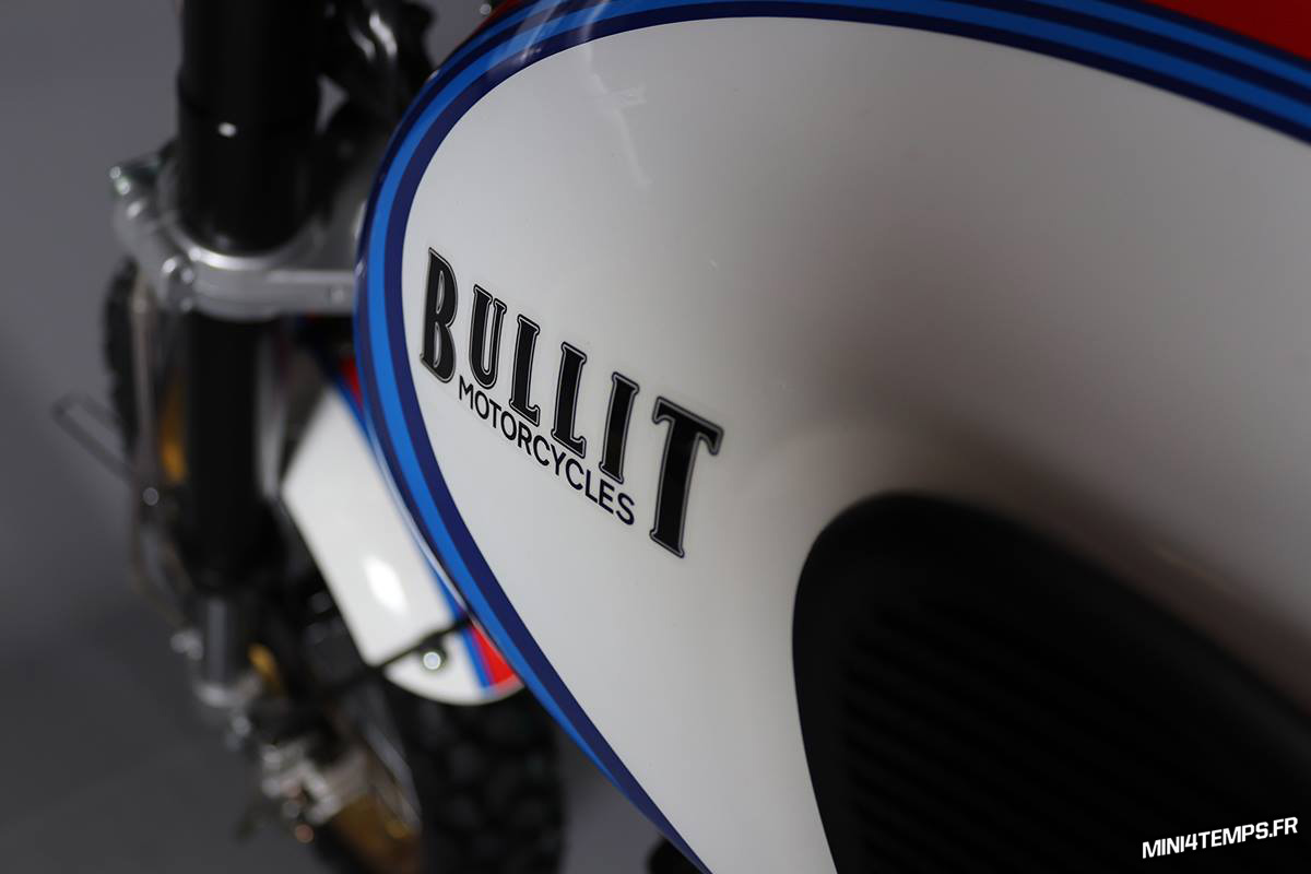 Scrambler Bullit Hero Martini White Racing 2018 - mini4temps.fr