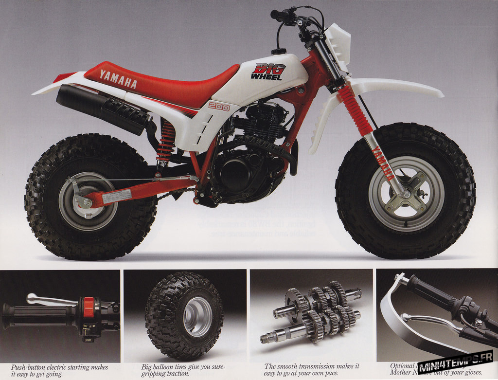 Yamaha BW200 Big Wheels - mini4temps.fr