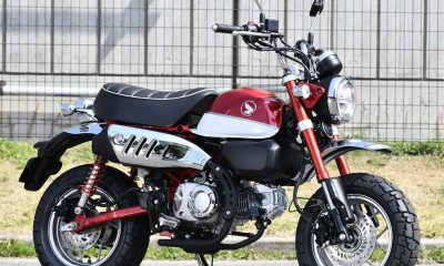 Honda Monkey 125cc 2018 rouge - mini4temps.fr