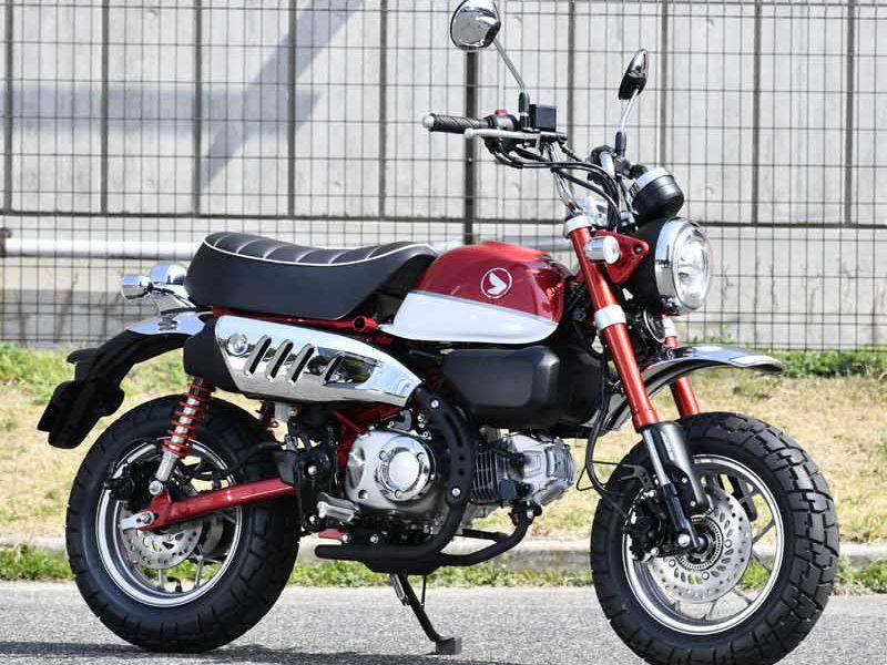 Honda Monkey 125cc 2018 rouge - mini4temps.fr