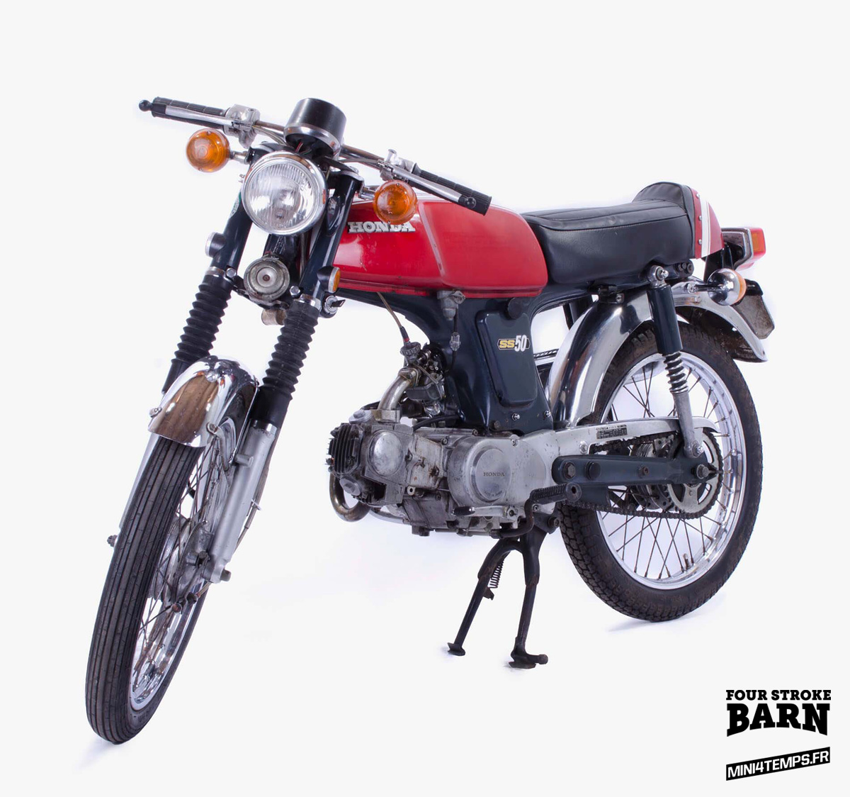 Le Honda SS50Z de Four Stroke Barn - mini4temps.fr