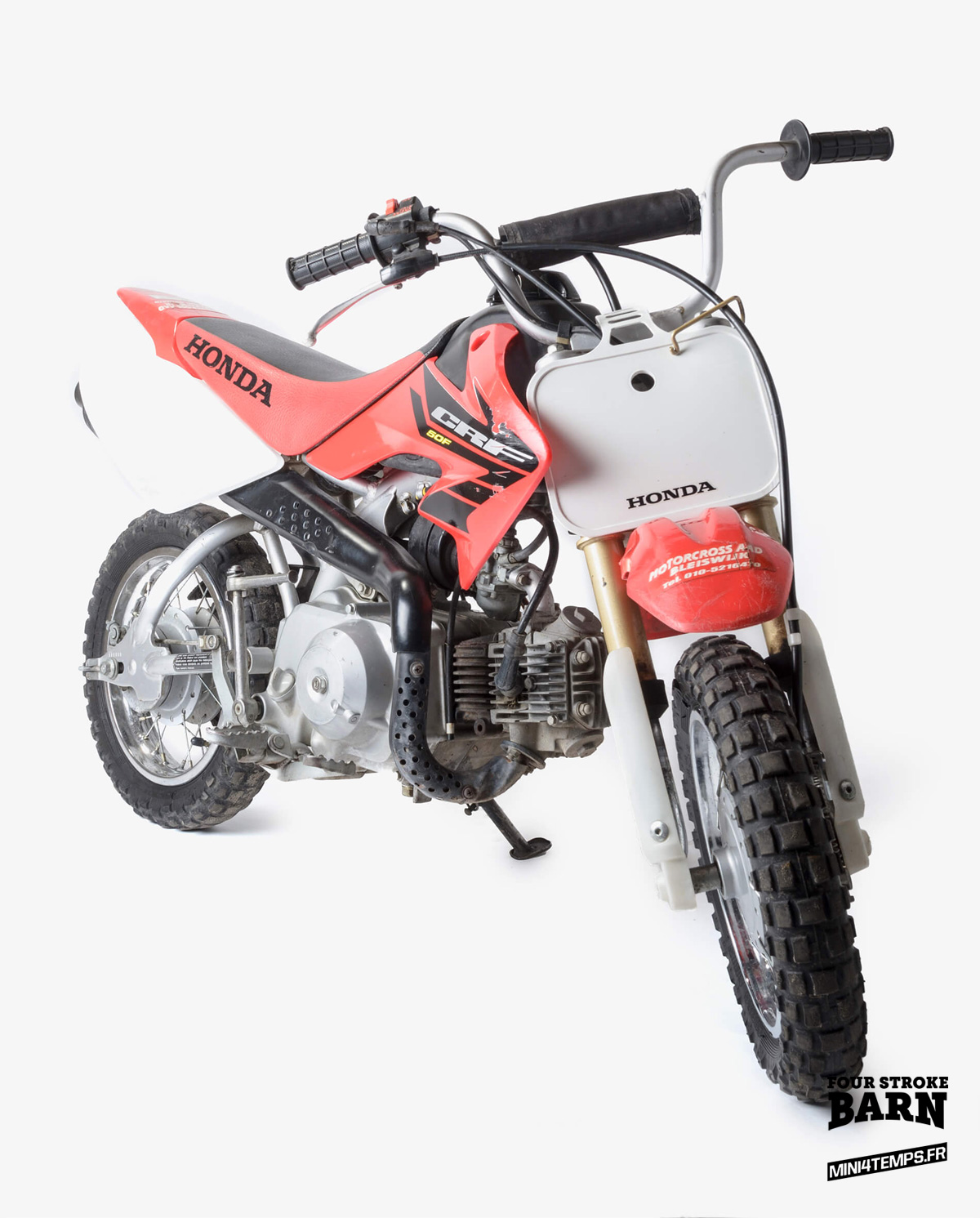 Les Honda CRF50 de Four Stroke Barn - mini4temps.fr