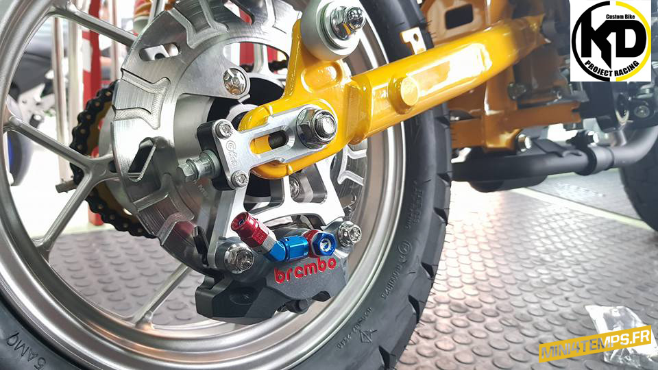 Le Honda Monkey 125 2018 de KD Project Racing - mini4temps.fr