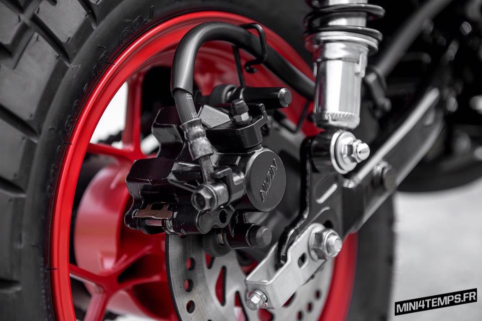 Le Honda Monkey 125 2018 de K-Speed - mini4temps.fr