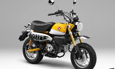 Le Honda Monkey 125 2018 Jaune Banana en détails - mini4temps.fr