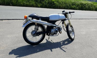 Le Honda SS50 de Morgan - mini4temps.fr