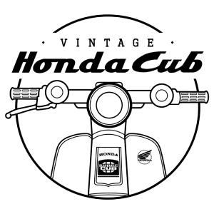 Vintage Honda Cub - mini4temps.fr