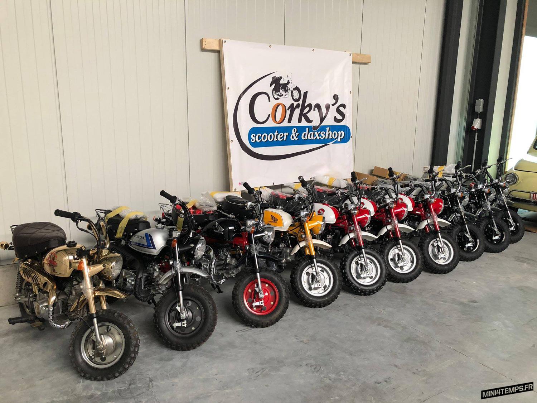 Du neuf chez Corky's Scooter & Dax Shop ! - mini4temps.fr