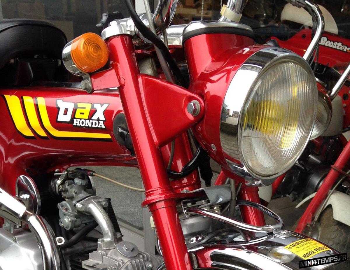 Honda Dax ST70 de 1978 - mini4temps.fr