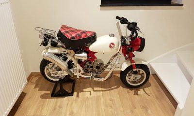 Le Honda Monkey 30th Anniversary de Chris - mini4temps.fr