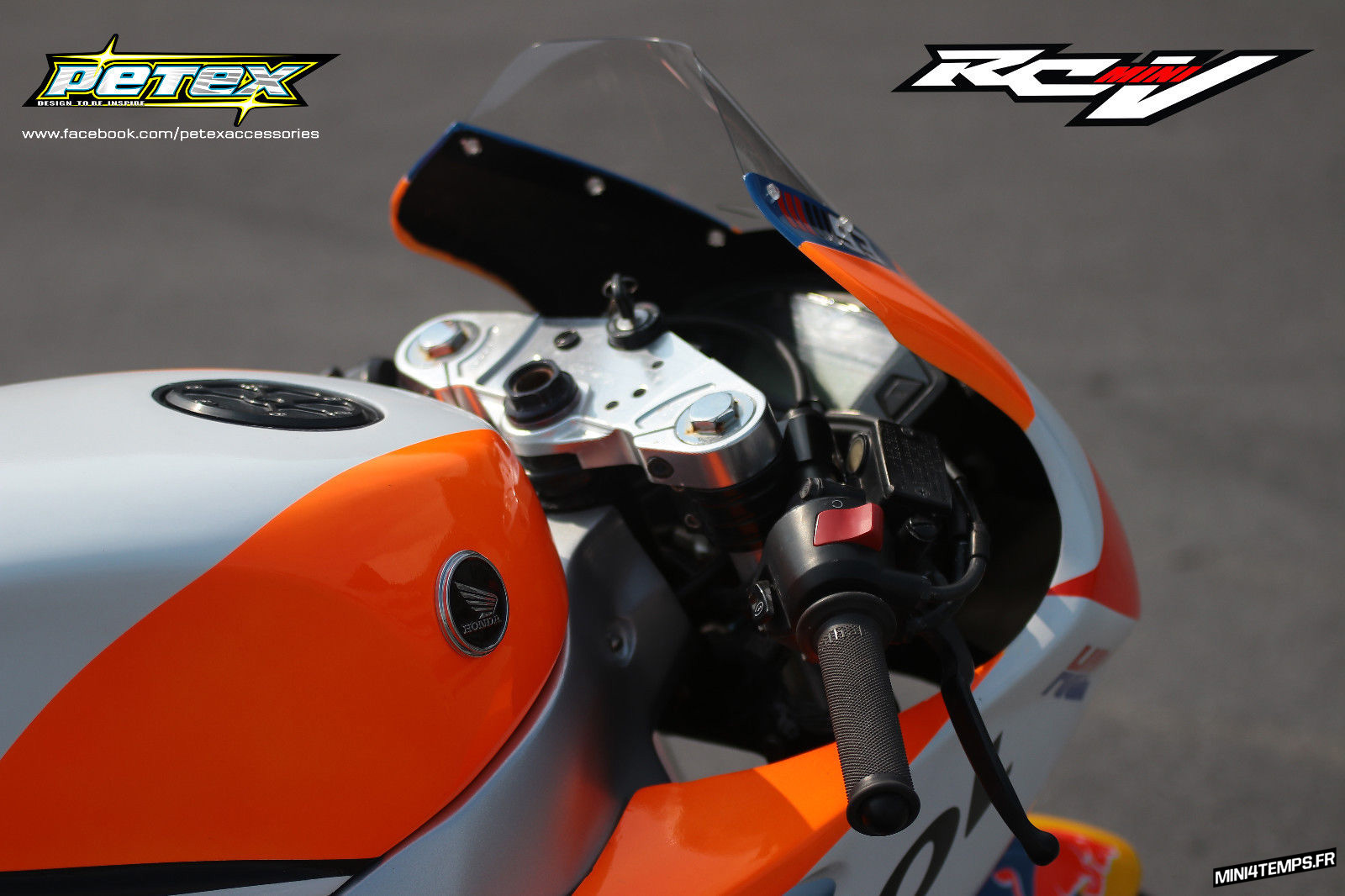 Honda GROM / MSX 125 RCV mini bodykit Petex - mini4temps.fr