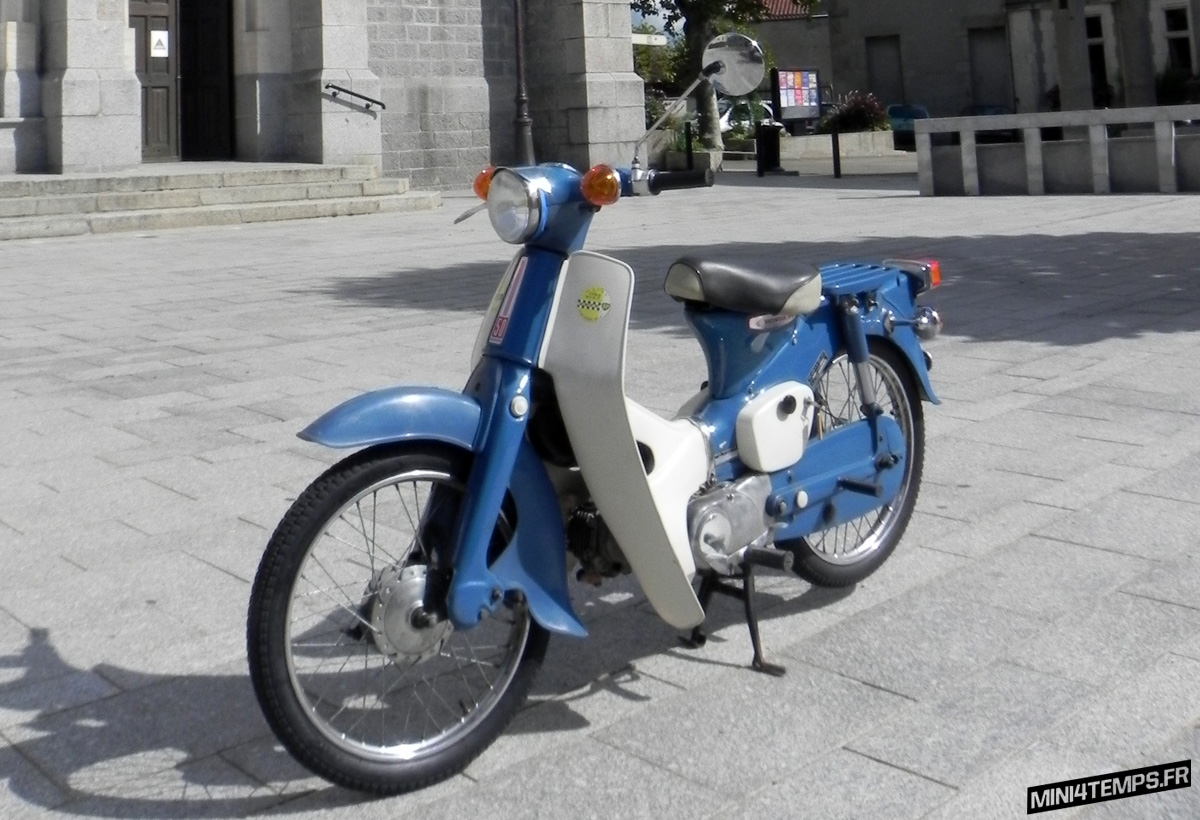 Le Honda Cub C50 de David - mini4temps.fr