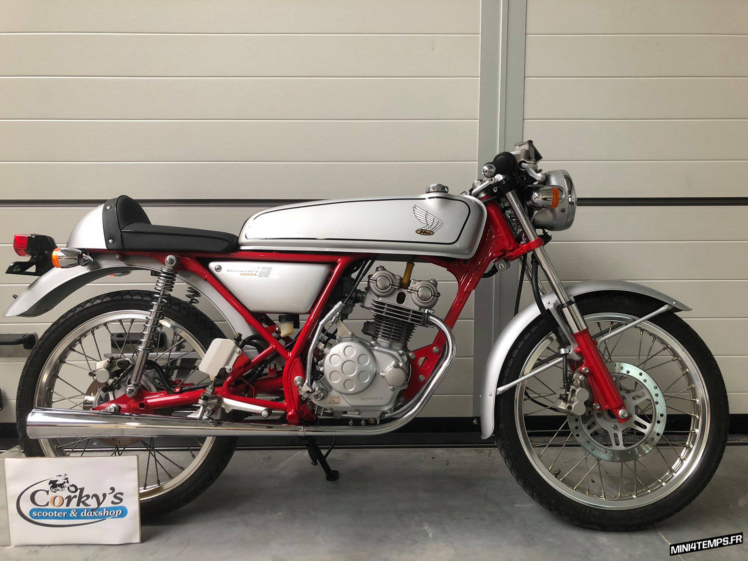 Honda Dream 50 de 1997 - mini4temps.fr