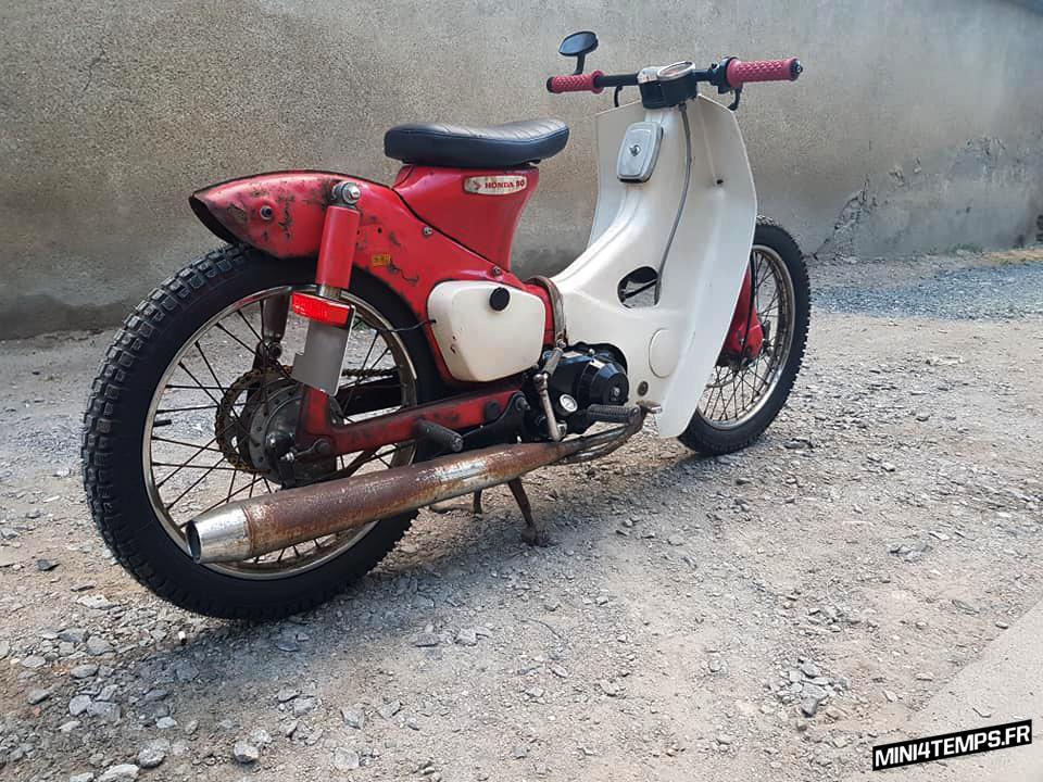 Honda Streetcub rat's C50 de 1972