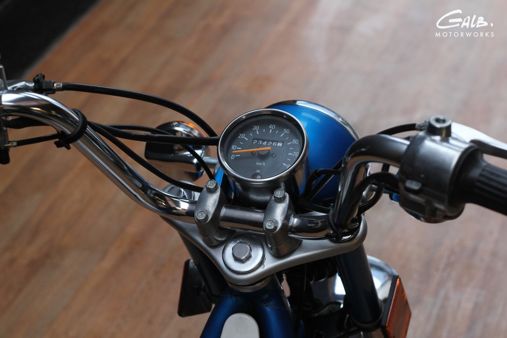 A vendre : Yamaha Chappy by Galb Motorworks - mini4temps.fr