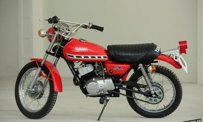 Yamaha GT50 Mini Enduro Oldtimer Studio Lisboa - mini4temps.fr