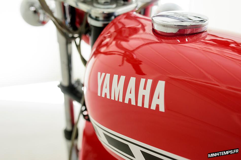 Yamaha GT50 Mini Enduro Oldtimer Studio Lisboa - mini4temps.fr