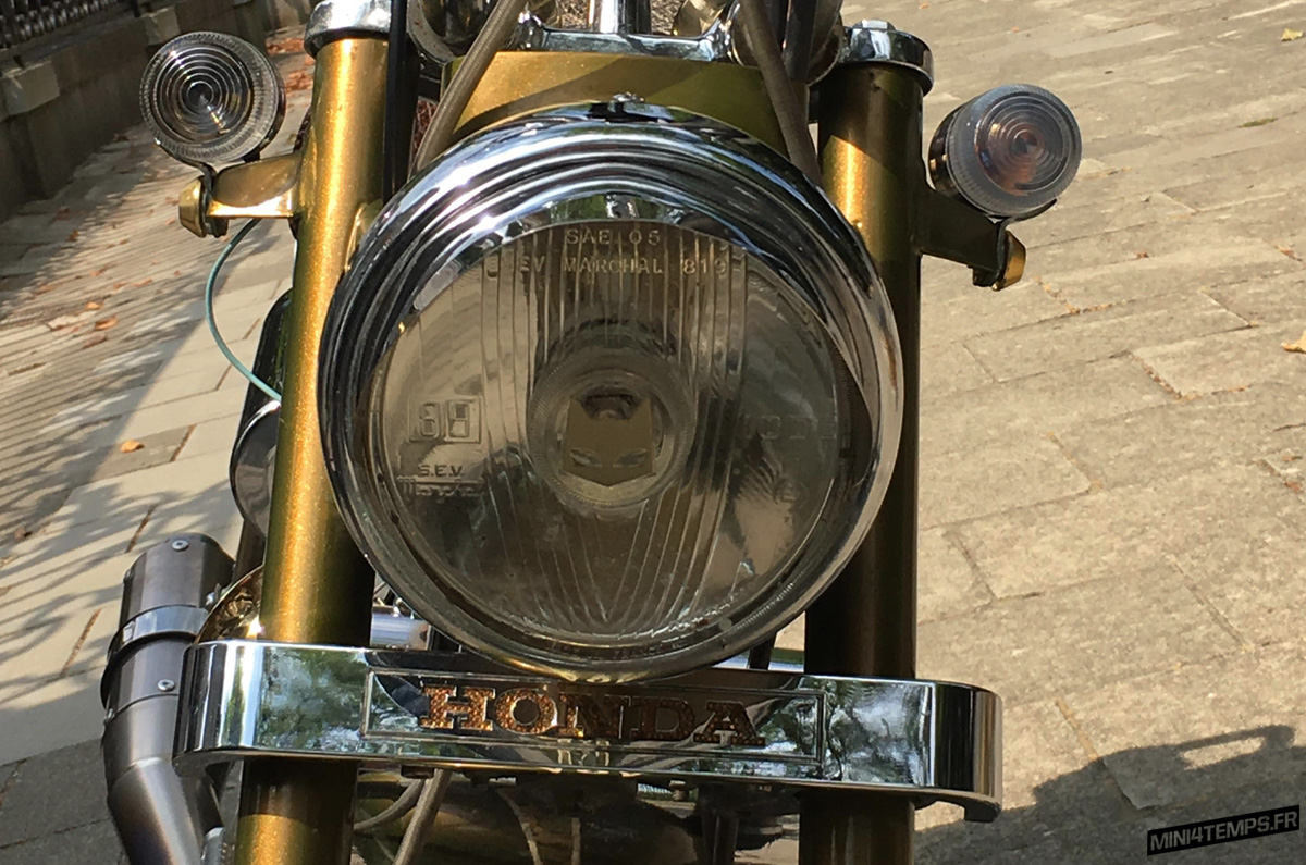 Vintage Honda Dax Lowrider - mini4temps.fr