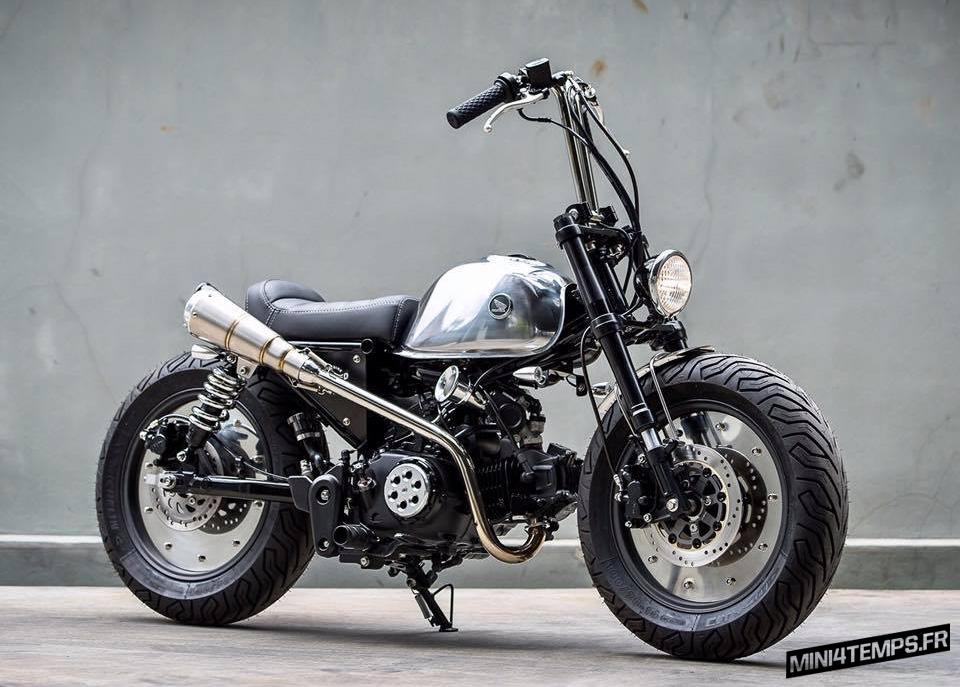 "Le Honda Monkey ""Funky Monkey"" de K-Speed - mini4temps.fr"