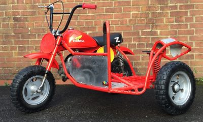Le Honda Monkey Z50R Side Car de MetricMotorcycles - mini4temps.fr