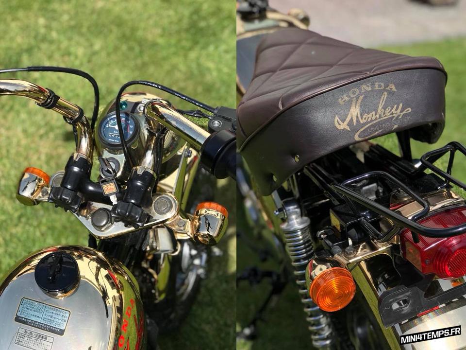 A VENDRE : le Honda Monkey Gold de Sander - mini4temps.fr