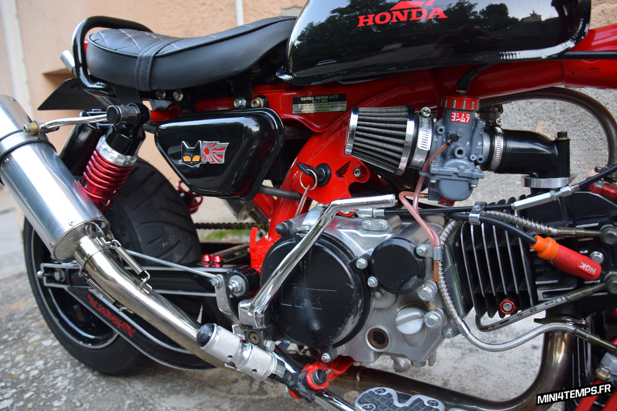 Le Honda Monkey Z50J2 de Volksben - mini4temps.fr