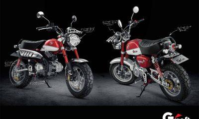 Des pièces G-Craft pour le Honda Monkey 125 2018 - mini4temps.fr