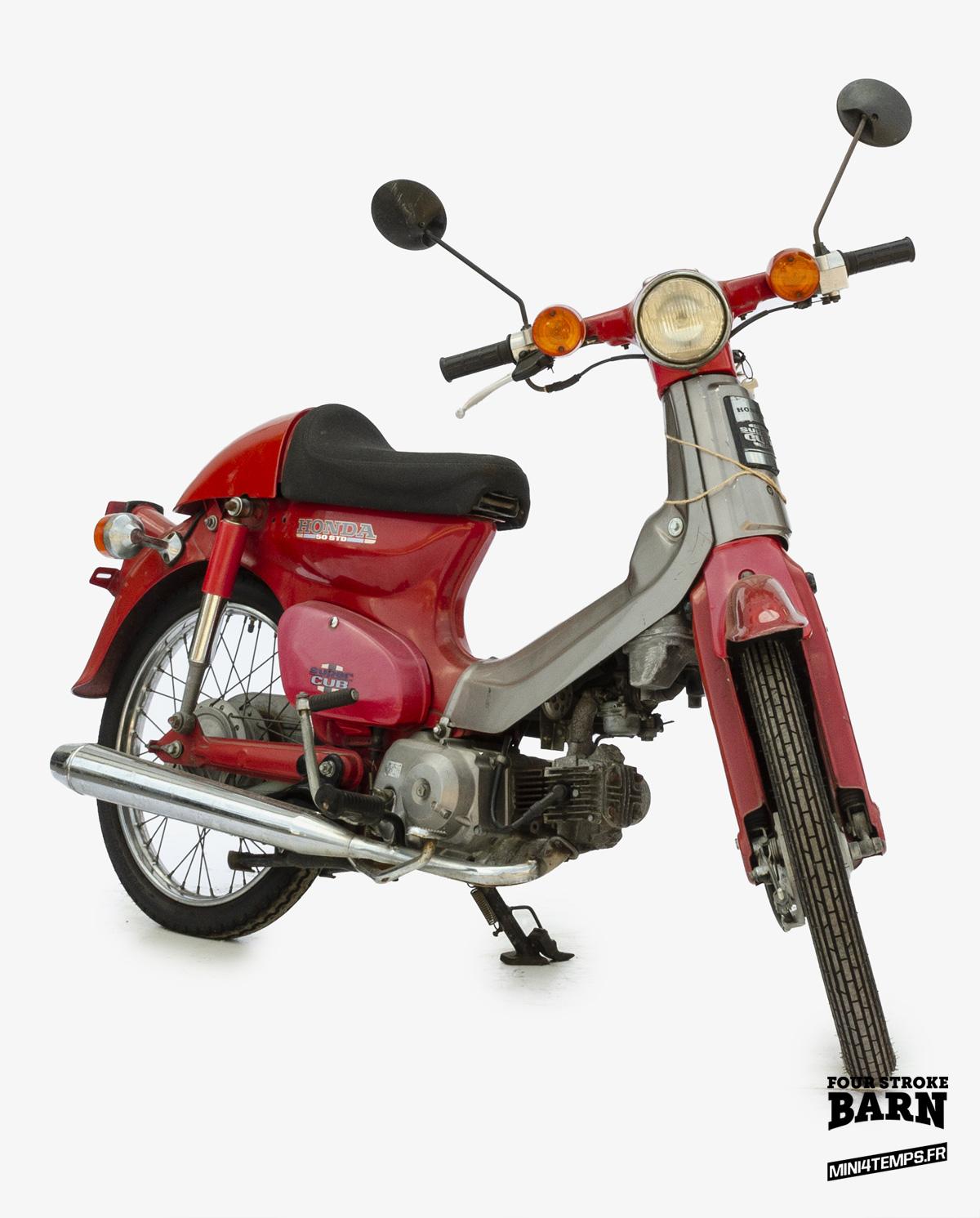 Honda C50 Cub, Cubra Edition - mini4temps.fr