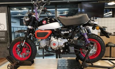 Le Honda Monkey 125 Black&Red de CUB House Chonburi - mini4temps.fr