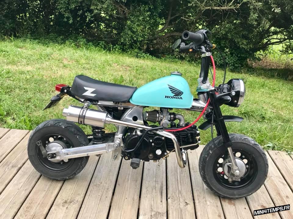 Le Honda Monkey de Max - mini4temps.fr