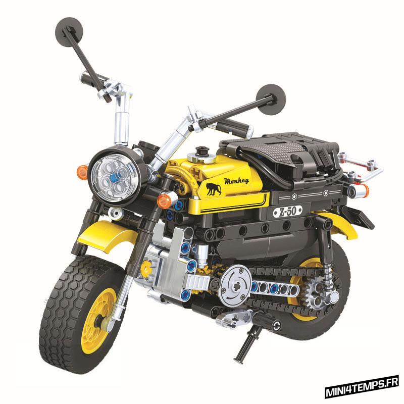 Honda Monkey en Légo Block - mini4temps.fr