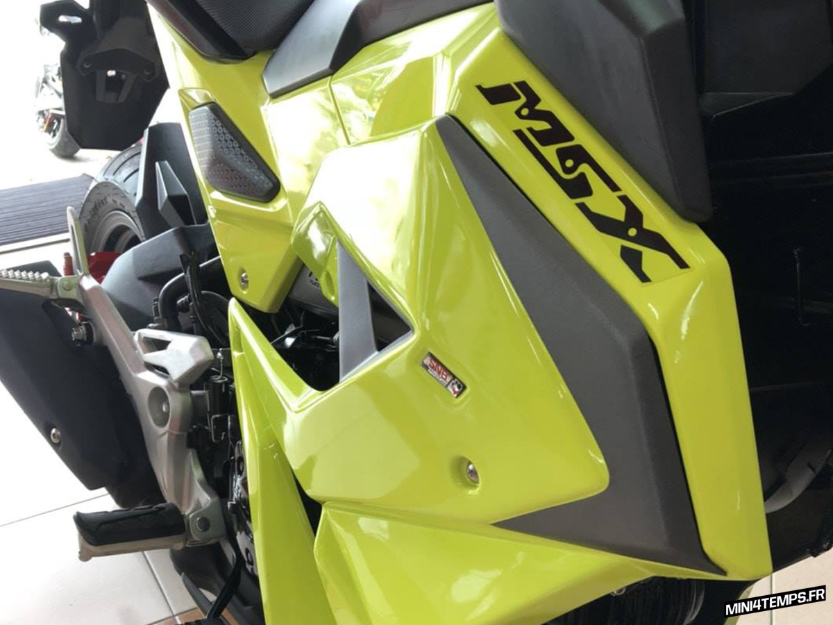 Le Honda MSX 125 SF de Zeed Parts - mini4temps.fr