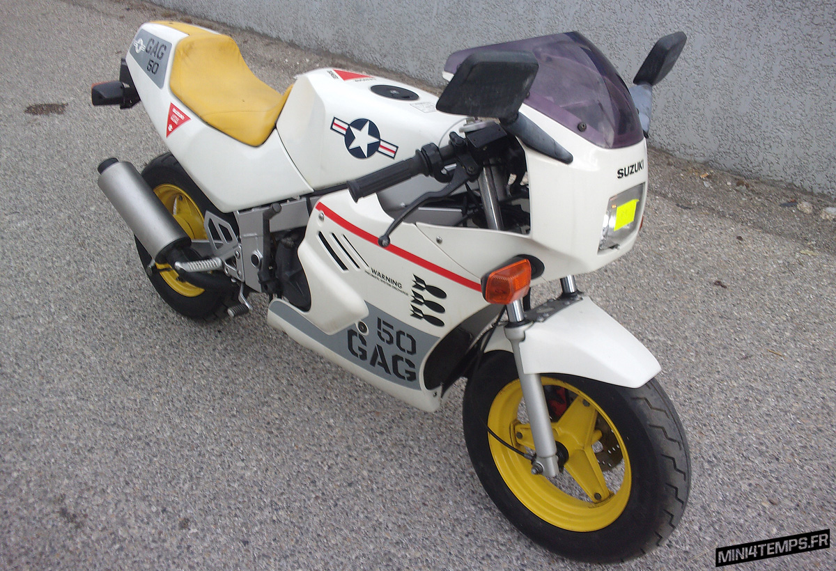 A VENDRE : 2 Suzuki Gag 50 de 1986 - mini4temps.fr