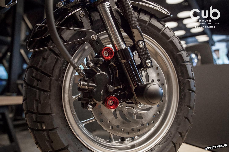 Honda Monkey 125 custom by CUB House Udonthani - mini4temps.fr