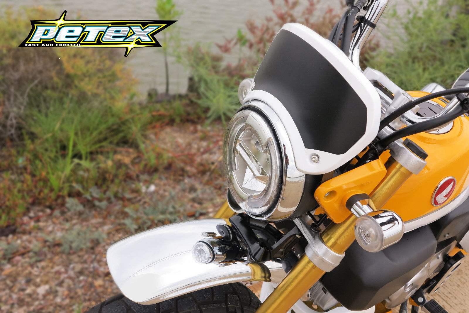 Petex présente ses parts pour le Honda Monkey 125 - mini4temps.fr