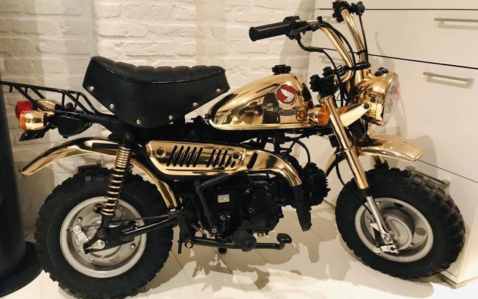 Le Honda Monkey Gold Limited Edition de 1996 - mini4temps.fr