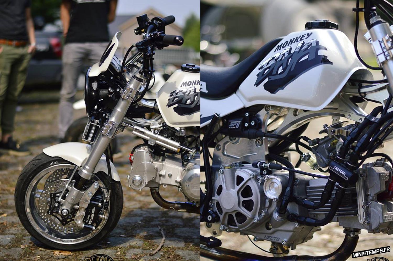 Le FAT Honda Monkey Baja RF de Stefe - mini4temps.fr