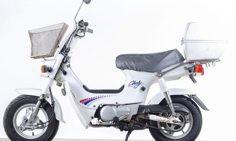 Le Honda Chaly white de Four Stroke Barn - mini4temps.fr