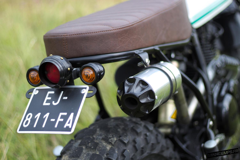 La Yamaha TW 125 de Blackbird Motorcycles - mini4temps.fr