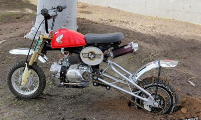 Le Honda CR50F Hill Climber de Lossa Engineering - mini4temps.fr
