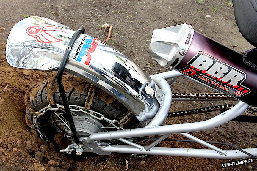 Le Honda CR50F Hill Climber de Lossa Engineering - mini4temps.fr