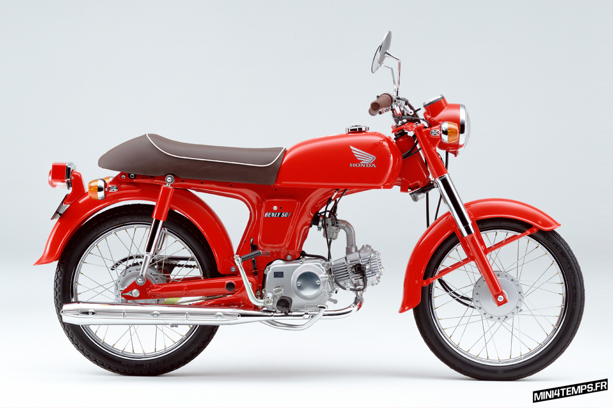 L'histoire du Honda Benly - mini4temps.fr
