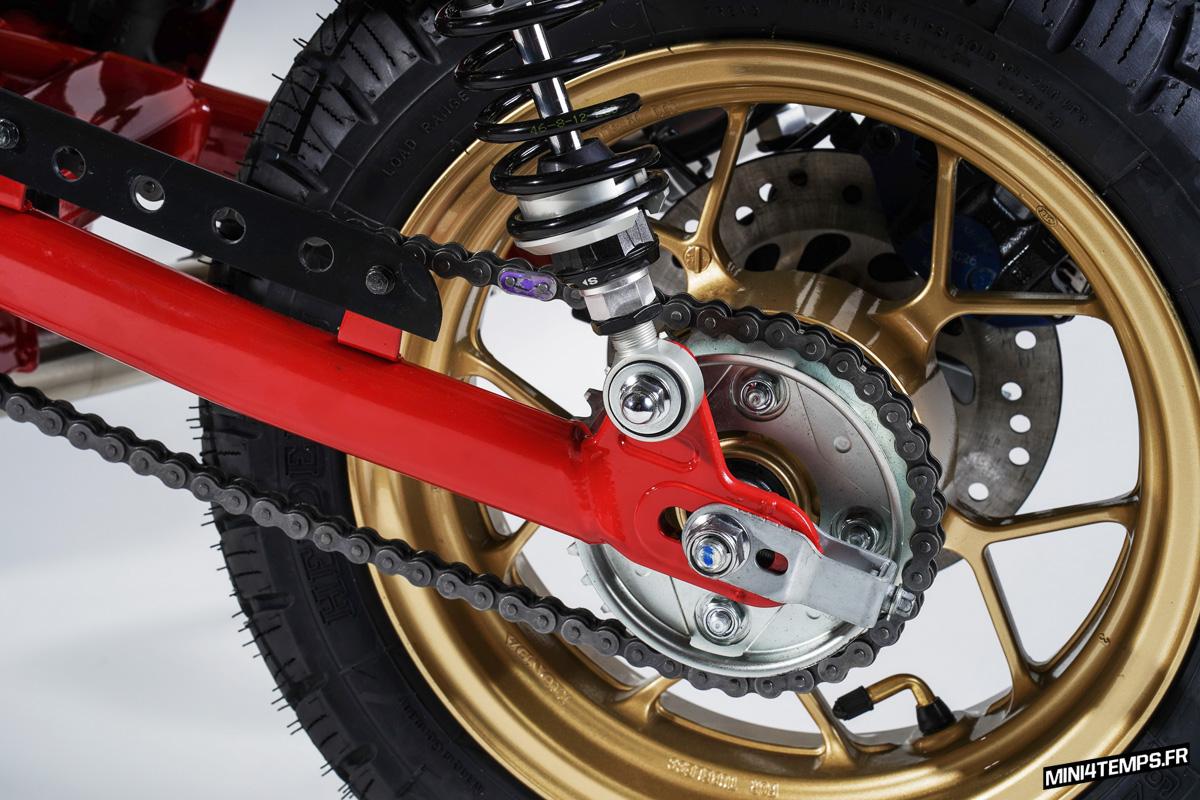 Le Honda Monkey 125 Flat Track de Kingston Custom - mini4temps.fr
