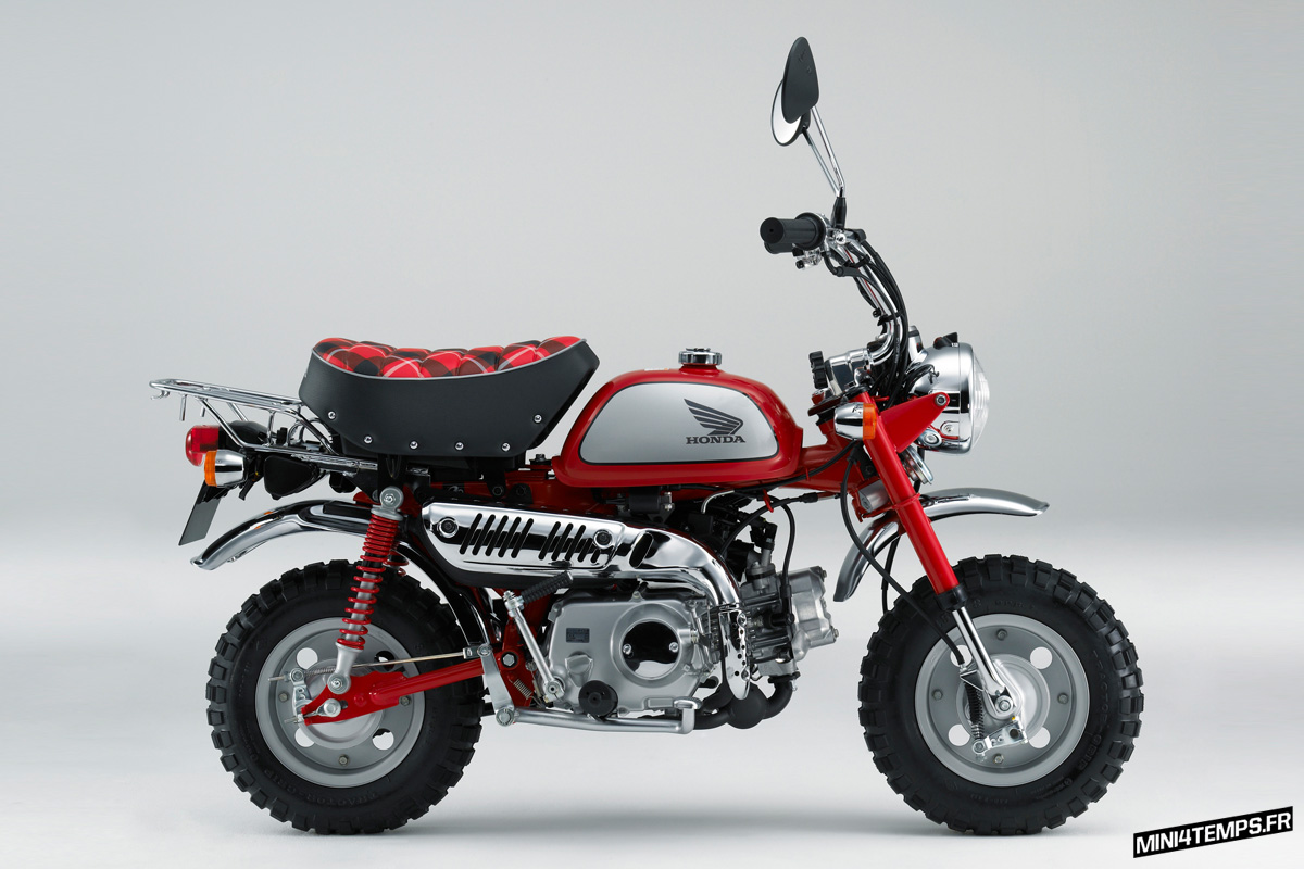 Honda Z50 Monkey Limited 2009 - mini4temps.fr