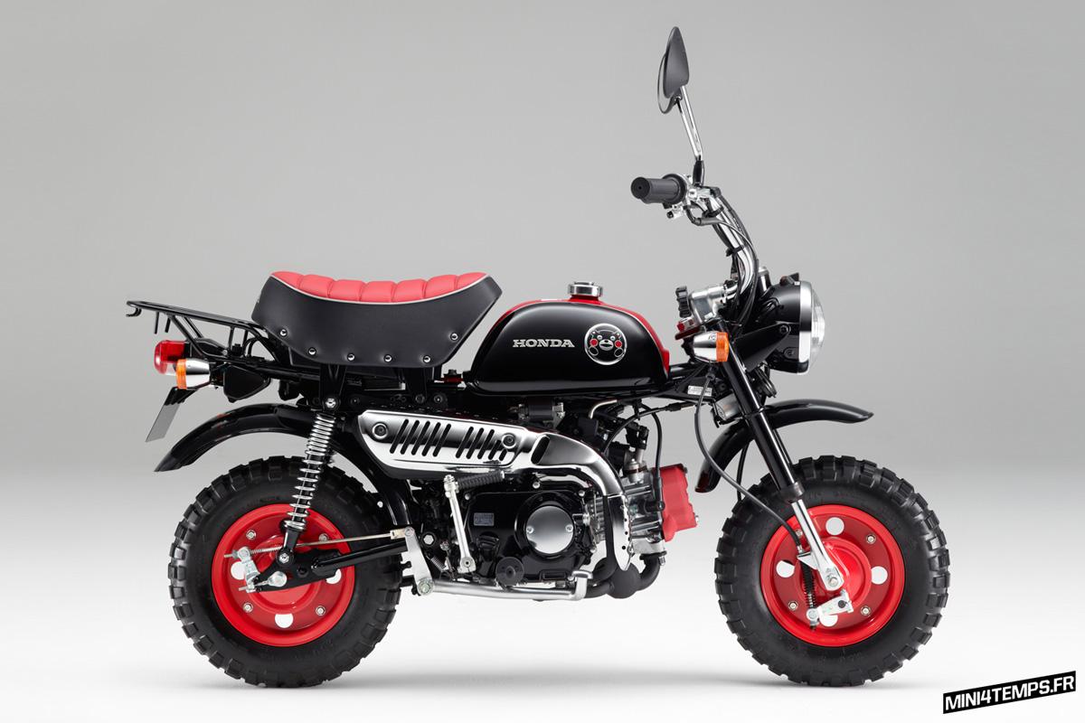 Honda Monkey Z50 Kumamon 2014 - mini4temps.fr