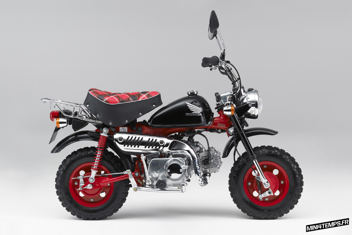 "Honda Monkey Z50 ""40 Anniversary"" 2007 - mini4temps.fr"