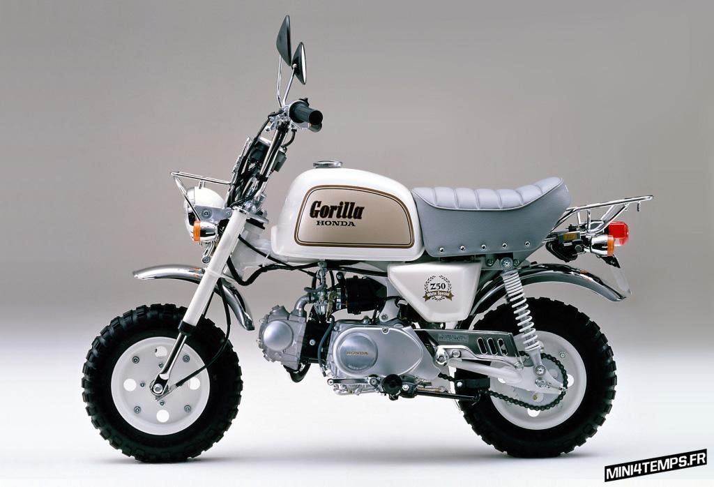 Honda Monkey Gorilla White Special - mini4temps.fr