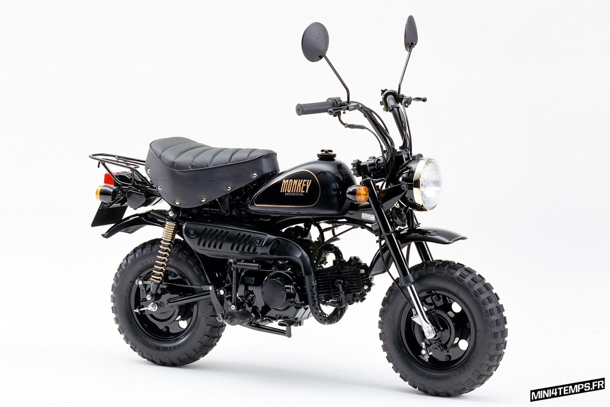 "Honda Z50 Monkey ""Black Special"" '1990 - mini4temps.fr"