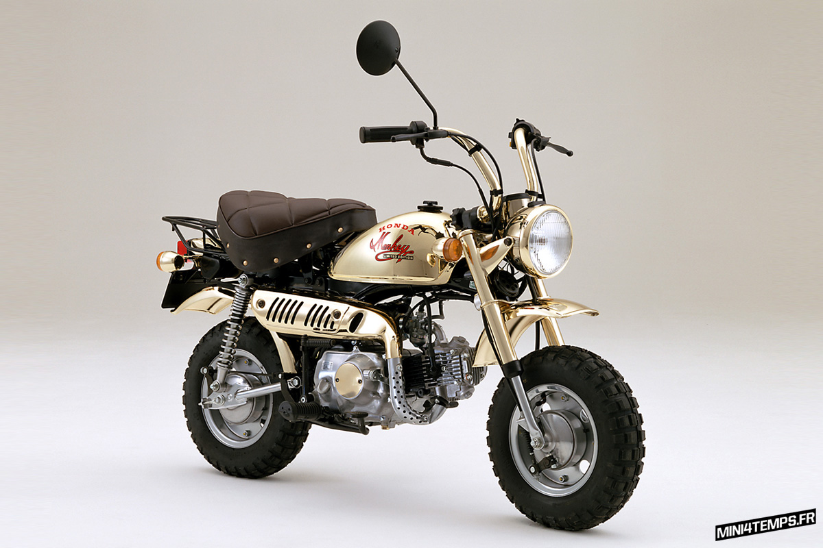 Honda Monkey Gold Limited Edition 1984 - mini4temps.fr